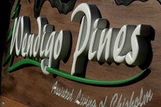 Photo: You can get a carved sign price here... http://nicecarvings.com/3d-sign-quote-form