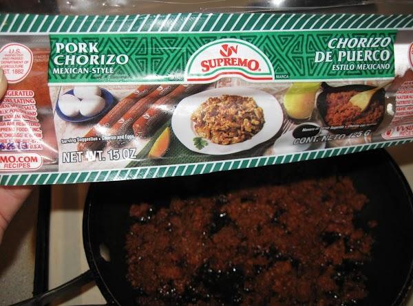 Here is the chorizo I used.
