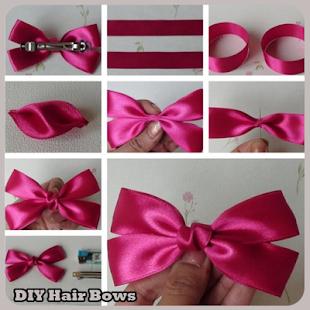 DIY Hair Bow - náhled