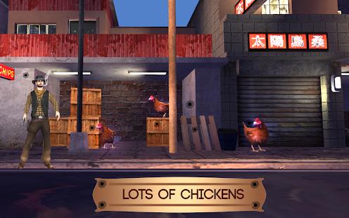 Run Chicken Shoot :3D Sniper Chicken Shooting 2018 - náhled