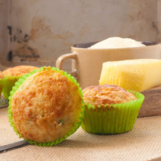 Healthy Savoury Cheese Muffins Recipe