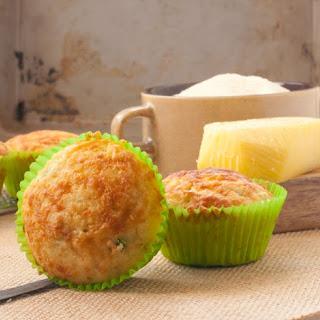 Healthy Savoury Cheese Muffins.