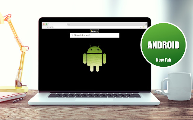 Android Wallpapers New Tab Theme