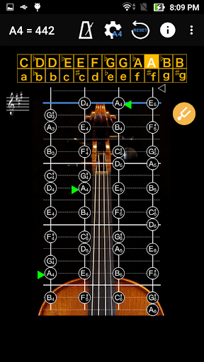 ViolinTuner - Tuner for Violin 3.3 screenshots 2