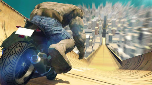 Super Hero Bike Mega Ramp 1.3 screenshots 12