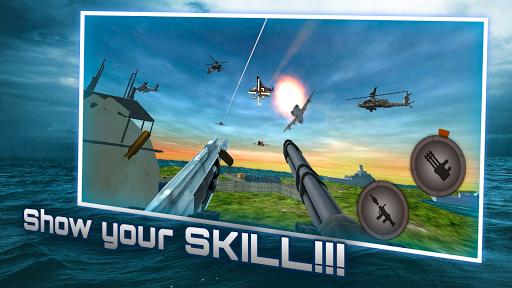 海軍砲手:海戰