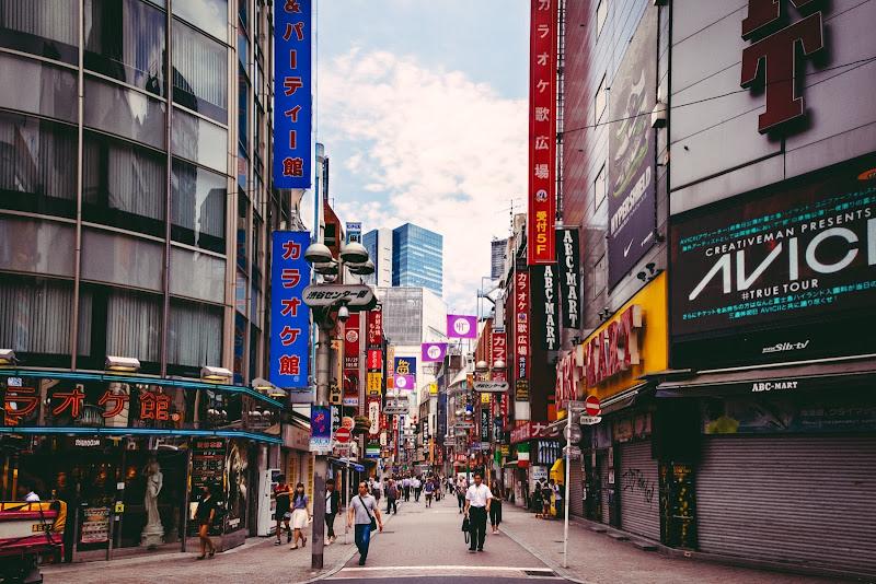 Shibuya di Laura Benvenuti