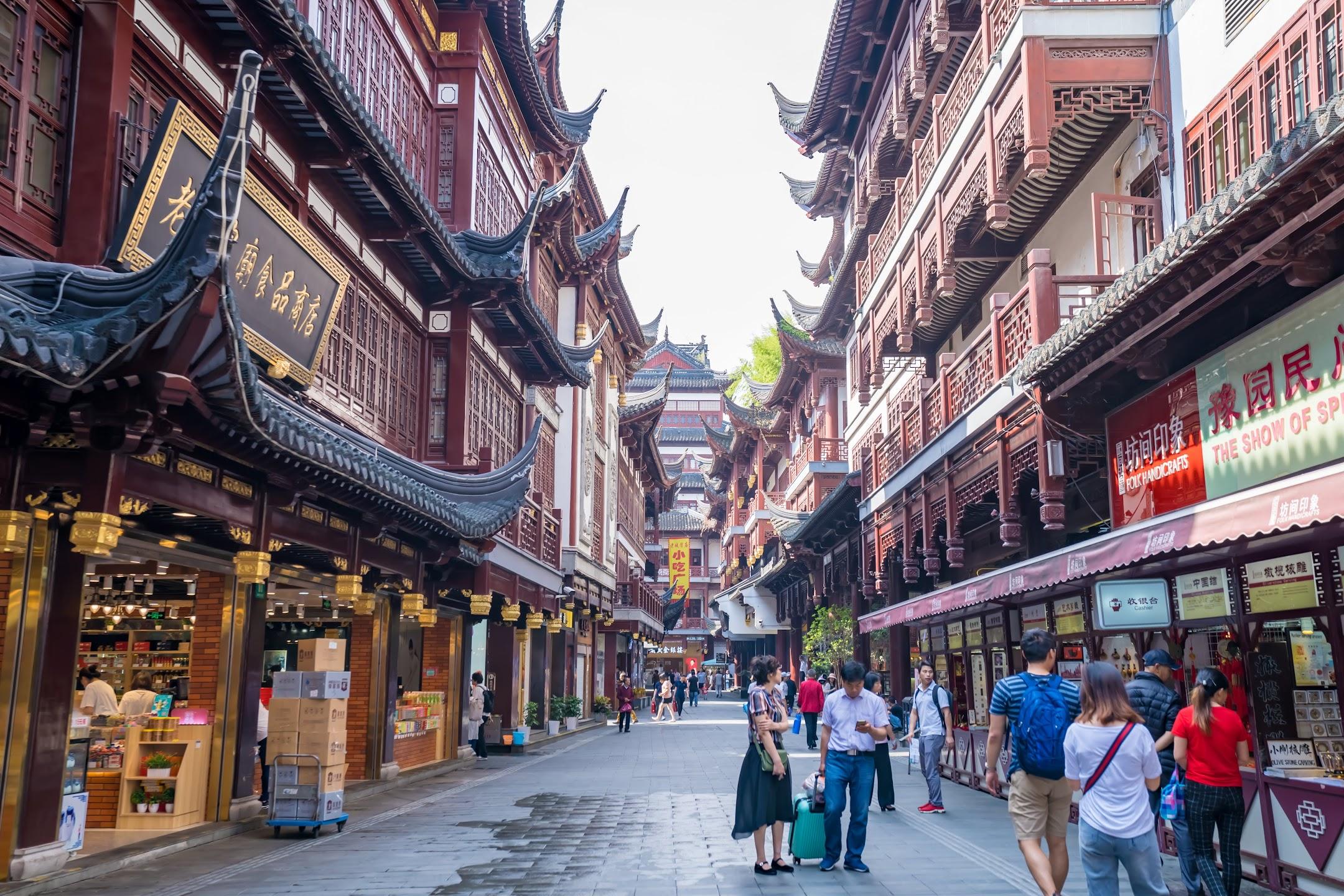 上海 豫園商城1