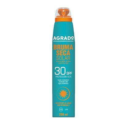 espuma seca agrado protector solar 30spf 200 ml