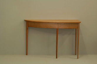 Photo: Stefano's first project Hall table in Qld Maple