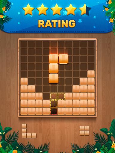 Wooden 100 Block Puzzle: Wood Hexa Star Gem apktram screenshots 9