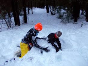 Photo: wojny sniegowe to byl standard :)