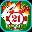 Blackjack Offline icon