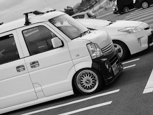 エブリイ DA64V 4WD×ターボ×AT(実は日産クリッパー)のサスペンションのカスタム事例画像 をたに。さんの2018年12月30日21:00の投稿