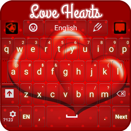 Love Hearts Keyboard