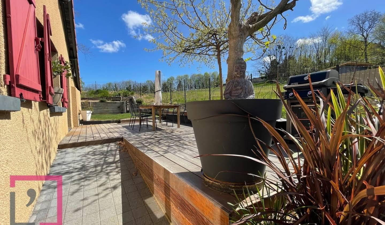 Appartement avec terrasse Fontaines-sur-Saône