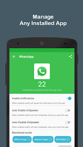 Audify Notifications Reader v2.5 [Premium]