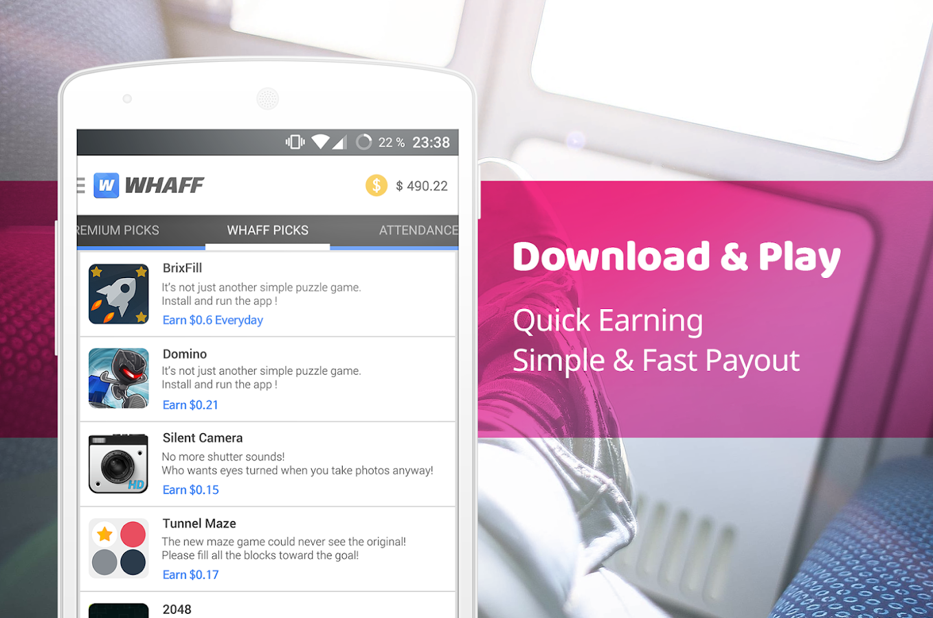 WHAFF Rewards - Android Apps on Google Play