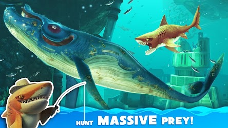 Hungry Shark World 2.4.2 (Unlimited Money) MOD Apk + OBB 2