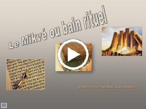 Video: Le mikvé ou bain rituel
