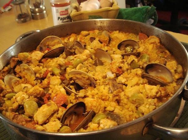 Madrid Style Fish & Rice/arroz Y Pescado Madrileno Recipe