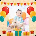 誕生日のフォトフレーム icon