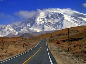 Photo: Karakoram Highway, A Karakoram Higway-en, Karakoram Highway, Ujgúria, Földünk legmagasabb főútján