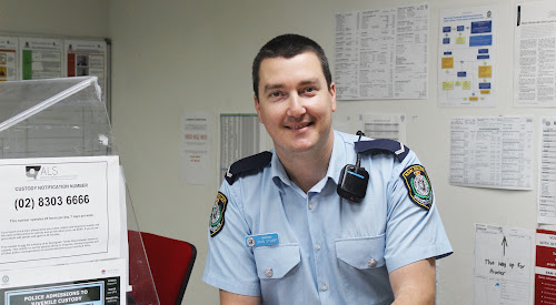 Bellata's new police officer, Constable John Stuart.