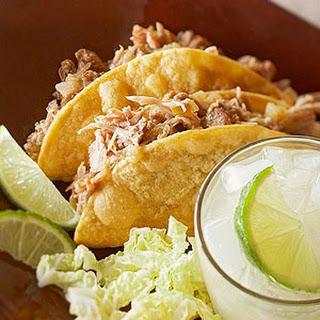 Pork Verde Tacos