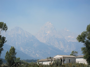 Photo: Grand Teton over historic General Store