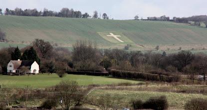 Photo: Day 3 - The White Cross of Lenham