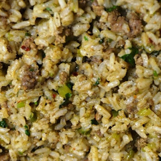 New Orleans Dirty Rice.