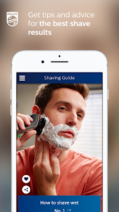 Grooming: styling & shaving Screenshot