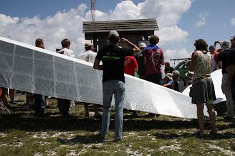 Photo: Брифинг соревнований. Рассказывают, какое сегодня задание - куда лететь, во сколько старт, какие погодные условия.