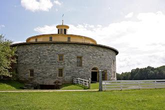 Photo: Round Stone Barn