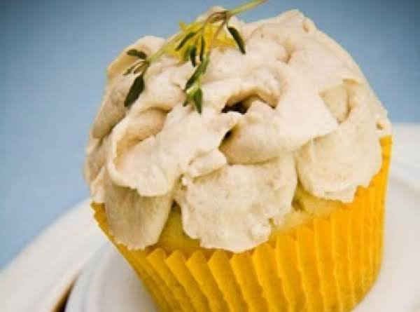 Olive Oil Cupcake W/balsamic Whipped Cream
