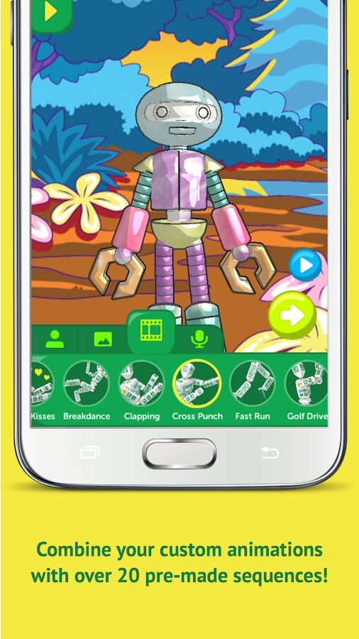 Crayola Easy Animator- screenshot