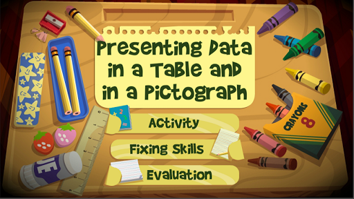 Present Data-Table,Pictograph 1.0.0 screenshots 1