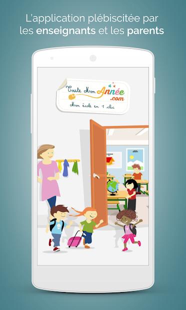 TouteMonAnnée Android App Screenshot