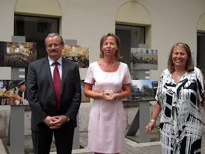 Photo: Középen  Jana Tomková, a Szlovák Intézet új igazgatója