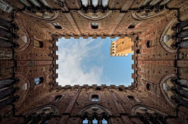 Siena, torre del Mangia di elit