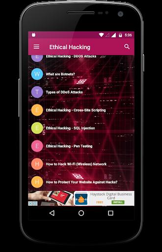 Ethical Hacking 2.1 screenshots 7