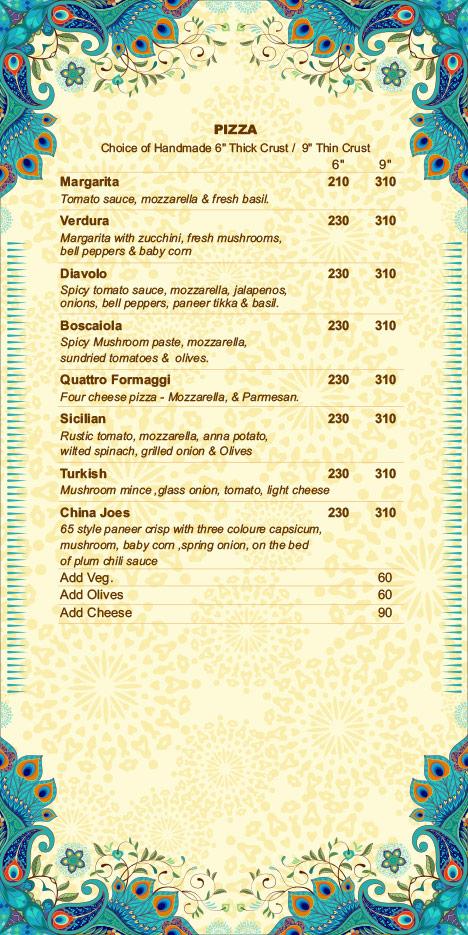 Hare Krishna menu 6