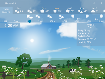 Awesome Weather - YoWindow Screenshot