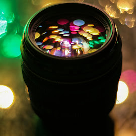 Bokeh and lens by Lakshya Sharma - Artistic Objects Technology Objects ( #bokeh #bokehphotography #camera  #lens #photography )