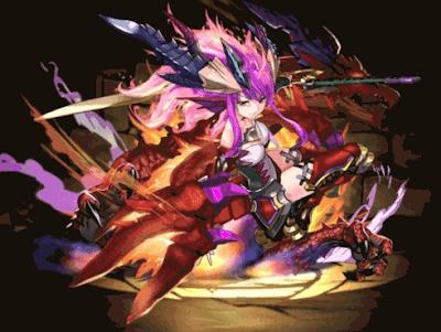 烈空の紅龍喚士・ソニア