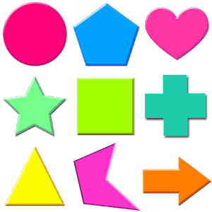 Worksheet Names Of Shapes With Pictures 30 basic shapes names for kids android apps on google play kids