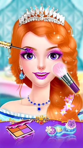 👸💇Long Hair Beauty Princess - Makeup Party Game screenshot 4