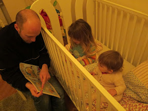 Photo: Bedtime story.