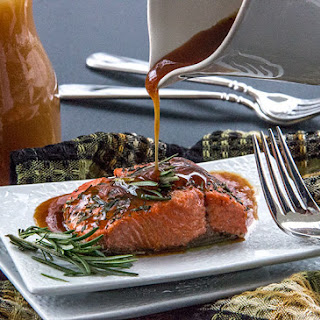 Roasted Salmon with Apple Cider Glaze Recipe